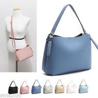 NEW Women Shoulder Bag Tote Messenger CrossBody Faux Leather Purse Handbag SMALL