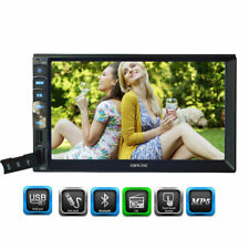 """Double 2Din 7"""" Touch Car Stereo Radio no DVD Player In Dash BT MP3 Mirror Link"""