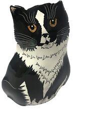 Cats By Nina Vase Black And White