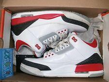 NIKE air Jordan 3 Retro OG III Fire red 2013 44 eur 10 us 9uk