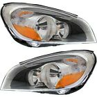 Headlight Set For 2011 2012 2013 Volvo S60 Left and Right With Bulb 2Pc