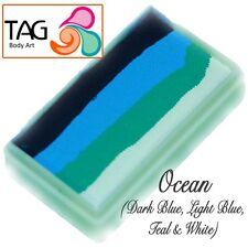 TAG BODY ART ONE STROKE PROFESSIONAL Faccia Torta di vernice (30g) ~ Ocean
