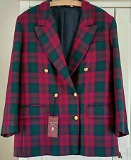 Marks and Spencer Woolen Checked Coats & Jackets for Women
