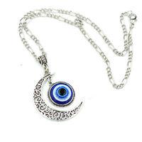Fashion Blue Eyes Jewelry Turkey Evil Eye Necklace Pendant Charm Nazar Women