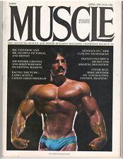 MUSCLE BUILDER bodybuilding magazine/MIKE MENTZER/Arnold Schwarzenegger 4-76