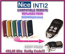 Nice INTI2 compatible mando a destancia 433,92Mhz Rolling code