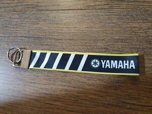 YAMAHA MOTORCYCLES LOGO R1 FZR VIRAGO RMZ BIKER 1000CC RX BLACK Keyring KeyFob
