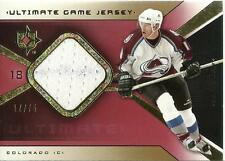 2004-05 Ultimate Collection Jerseys Gold #UGJAT Alex Tanguay 17/75 Avalanche