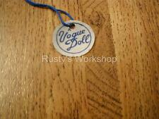 Made For 1950's VOGUE EARLY Ginny Dolls, A WRIST hang TAG ( Reproduction)