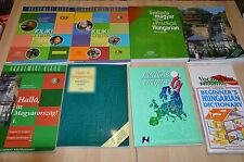 Super lot pour apprendre le Hongrois : manuels, grammaire, vocabulaire, exercice