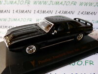 voiture 1/43 ROAD SIGNATURE : PONTIAC Firebird Trans am 1969 noire