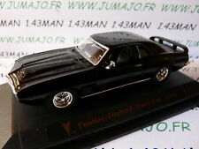 coche 1/43 ROAD SIGNATURE : PONTIAC Firebird Trans am 1969 negra