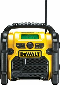 DeWalt Baustellenradio DCR020 Radio   10,8 - 18 V FM DAB+USB AUX Musikbox