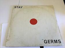 THE GERMS - STAY LP RARE MELOCORD HAMMOND ORGAN ? PRIVATE PRESS LP