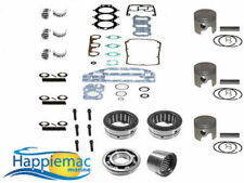 Johnson Evinrude 50 60 70 HP 3 Cyl Powerhead Piston Gasket Bearing Rebuild Kit