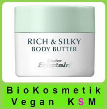 Rich und Silky Body Butter Für Körper Hände oder Büst Dr.Eckstein BioKosmetik
