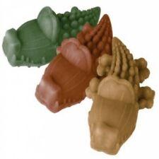 Dog Chews ~ Whimzees 10x MEDIUM Alligators Crocodiles Vegetarian ~ 3 Flavour Mix