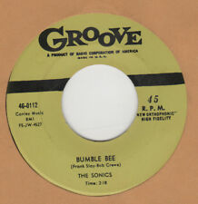 70'S DOO-WOP REPRO: THE SONICS - Bumble Bee/As I Live On  GROOVE