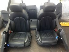 AUDI A6 C7 S LINE BLACK LEATHER HEATED ELECTRIC SEATS WITH DOOR CARDS