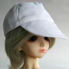 21# White Baseball Leisure Cap/Hat/Outfit 1/4 MSD DOD DZ LUTS BJD Doll Dollfie