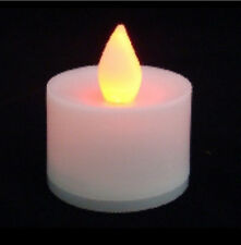 Led Votive Candle-White 24 Pieces