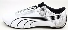 Puma Mens Future cat S1 Atom Motorsport Shoe White and Black Size 13 M
