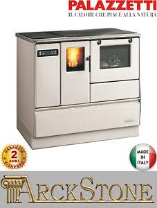 Cucina Forno a Pellet Aria Ventilata Palazzetti Ornella 8 Potenza 8,2 kW Avorio