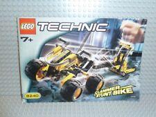 LEGO® Technic Bauanleitung 8240 Slammer Stunt Bike ungelocht instruction B473