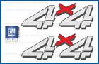 set of 2 1999 <--> 2006 Chevy Silverado 4x4 decals - F - bed side 1500 2500 4WD