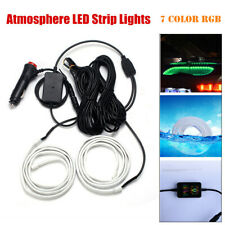 12V Car Window Rear Glass Light Atmosphere LED Strip Lights Interior Kit 7 Color