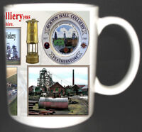 ACKTON HALL COLLIERY COAL MINE MUG LIMITED EDITION WEST YORKSHIRE MINERS GIFT