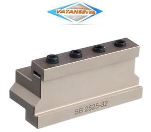 Spannblock für Abstechschwert SB 2525-32 mit Rechnung