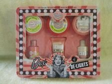 New Sealed Metal Tin Box of De-Lights Gift Set By Soap & Glory