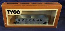 DL0206 Vtg Tyco HO Scale 40' Hopper Train Car Virginian 330F