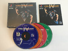 WING COMMANDER IV 4 | pièce de collection comme NEUF + GUIDE | CIB Comme neuf | ps1