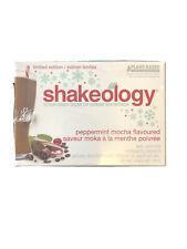 New Box of Shakeology Peppermint Mocha - 14 PACKETS!! Exp 9/20 Beachbody VEGAN!!