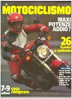 7 1993 MOTOCICLISMO - DUCATI M 900 - APRILIA CLIMBER 280 R - FANTIC K ROO 250