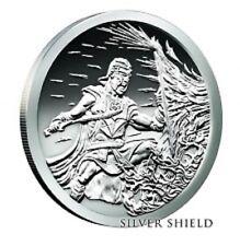 2  oz .999 fine  2017 Silver Shield Crucible  Proof with coa PRE-SALE