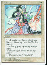 MAGIC THE GATHERING 4TH EDITION WHITE VISIONS