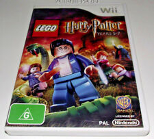 Lego Harry Potter Years 5-7 Nintendo Wii PAL *Complete* Wii U Compatible