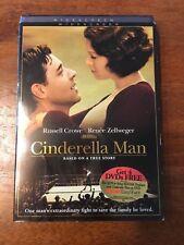 Cinderella Man DVD w/Slipcover Widescreen Russell Crowe- Renee Zellweger NEW*