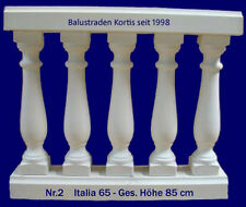 Balustraden Baluster Balustrade Geländer Zäune Balkon Zaun Säulen Gartenzaun