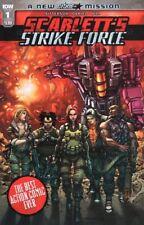 Scarletts Strike Force #1 Cover A Comic Book 2018 - IDW