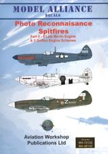 Nuevo Modelo Alianza Decals 1:72 pr Merlin/Griffin Motor Supermarine Spitfire
