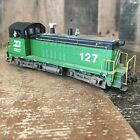 Athearn 41018 HO Burlington Northern #127 Locomotive For Parts/ Repair (a1)