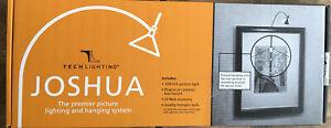 NEW JOSHUA Tech Lighting  Picture Frame Light Lamp Plug In Chrome 700JOSPLC—30
