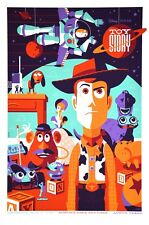 Toy story by Tom Whalen - Regular- Rare sold out Mondo print