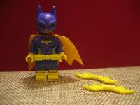 LEGO Batman Movie Batgirl Minifigure With batarangs