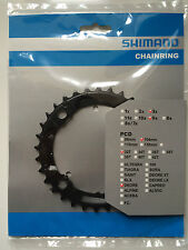 Shimano 32T Mega 9 Speed Chainring Deore FC-M590 M591 Black Y1LD98080 104mm BCD