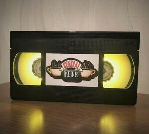 Friends Central Perk Retro VHS Night Light, TV Series, Desk Lamp, Horror Movie
